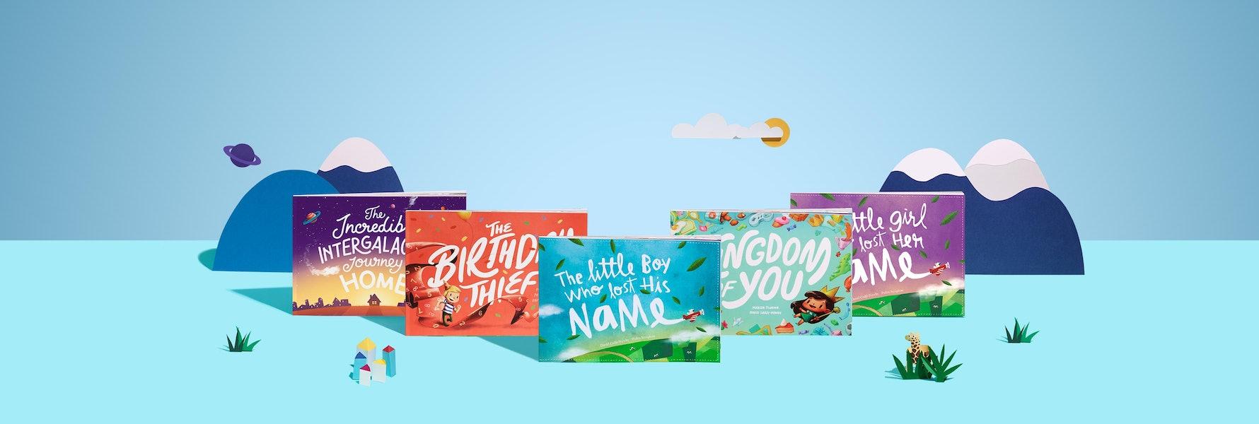Personalized books that'll blow kids' socks off